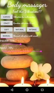 Vibrate Rapid Body Massager - náhled