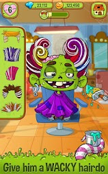 Zedd the Zombie - Grow Your Wacky Friend APK screenshot thumbnail 2