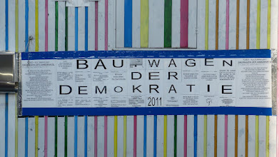 Photo: Bauwagen der Demokratie