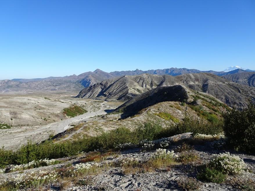 Approaching Windy Ridge