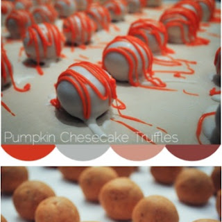 Easy Pumpkin Cheesecake Truffles