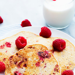 Berry Cottage Cheese Pancakes