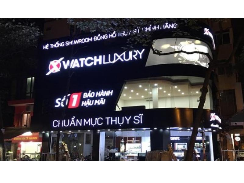 Một trong những showroom của Xwatch tại Hà Nội