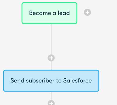 Drip and Salesforce Integration Screenshot