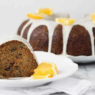 Carrot Cake Delux with Orange Icing