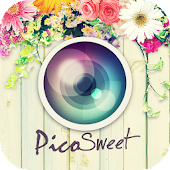 PicoSweet: Kawaii deco with a few taps.PhotoEditor