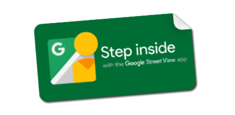 """Step Inside"" Stickers"