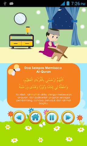 android My Daily Du'as,  Kids Series Screenshot 6