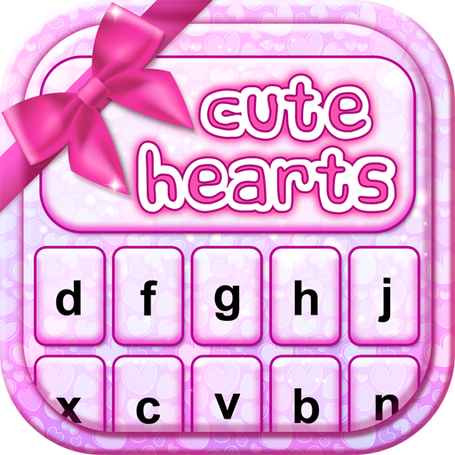 Valentines Day Hearts Keyboard Icon
