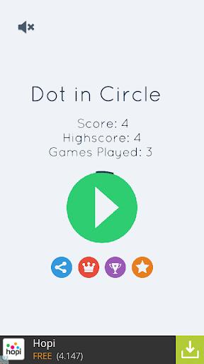 Dot in Circle