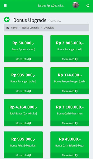 Portal Pulsa - Distributor Pulsa Termurah  screenshots 5