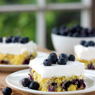 Blueberry Pineapple Cake.