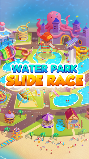 Waterpark: Slide Race apktram screenshots 1