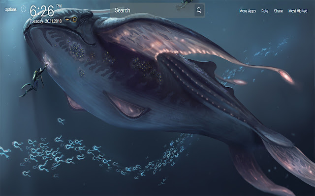 Subnautica Wallpapers New Tab