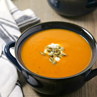 Spicy Harvest Butternut Squash Soup