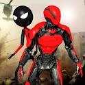Robot Stickman RopeHero- Gangstar Crime Mafia 3d icon