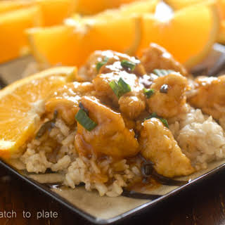 Asian Orange Chicken.