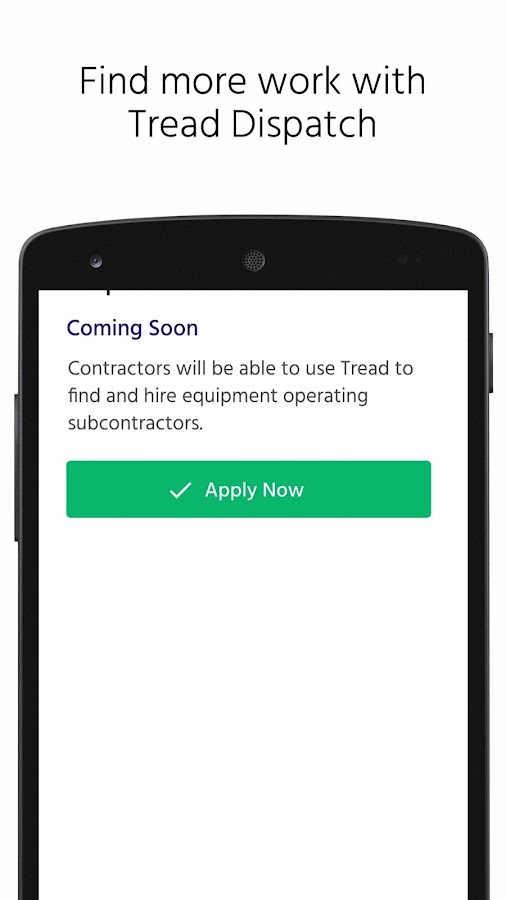 Tread Construction Technology- screenshot