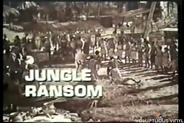 Tarzan 1960's Jungle Ransom