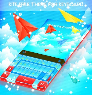 Kite Free Theme for Keyboard - náhled
