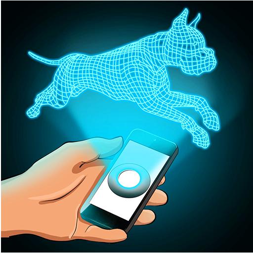 模拟のホログラム犬3Dシミュレータ LOGO-記事Game