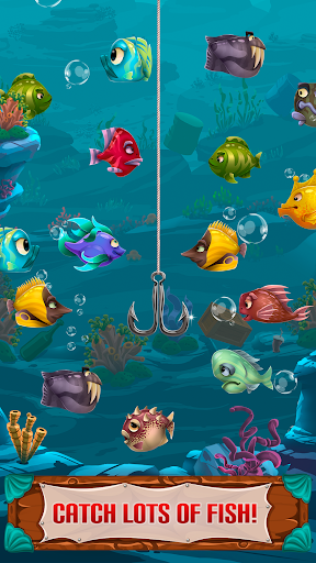 Larry: Fishing Quest u2013 Idle Fishing Game  screenshots 3