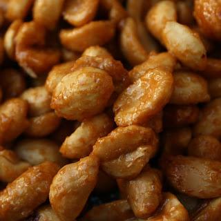 Honey Roasted Peanuts.