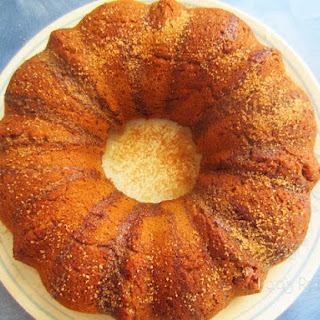 Cinnamon Pumpkin Bundt Cake