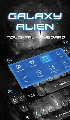 玩免費生活APP 下載Galaxy Alien Keyboard Theme app不用錢 硬是要APP