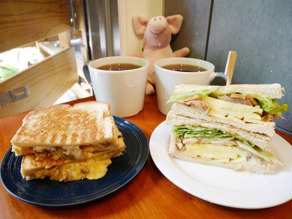 Lazy Pig懶豬三明治,讓你睡飽飽再起床還是可以吃到熱煎吐司跟清爽吐司