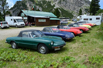 Photo: They store these cars at 2100 metres