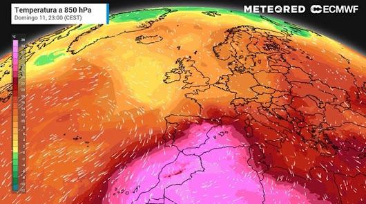 Un pueblo de Almería registra la segunda temperatura más alta de España