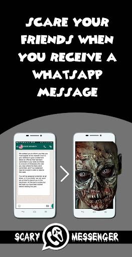 The Scary Messenger-Prank Game screenshot 1