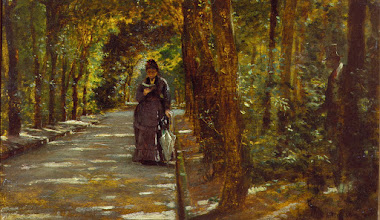 """Photo: Giuseppe De Nittis, """"Appuntamento nel bosco di Portici"""" (1864)"""