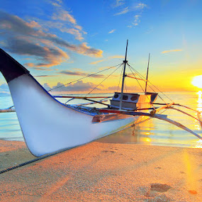 Sign In to the Morning by Andrew Supit - Transportation Boats