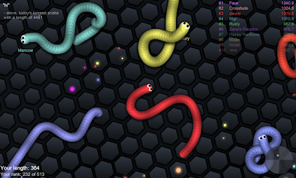 slither.io APK screenshot thumbnail 3
