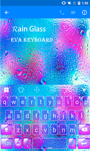 玩免費遊戲APP|下載Rainy Day Eva Keyboard-Diy Gif app不用錢|硬是要APP
