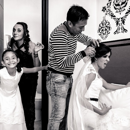 Fotógrafo de bodas Hugo Magallanes (HMFotoMX). Foto del 26.10.2017