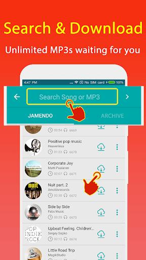 Mp3 Music Download : Free Music Downloader 1.1.6 screenshots 2