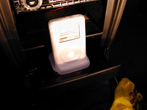 Photo: The iPod sits like this, see?