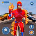 Grand Flame Robot Speed Hero icon