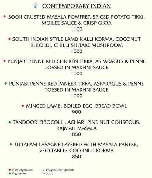 Phagun menu 4