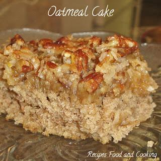 Oatmeal Fruit Cake Recipes.