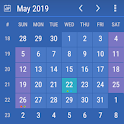 Calendar Widget: Month + Agenda icon