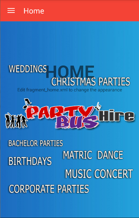 Party Bus Hire- screenshot