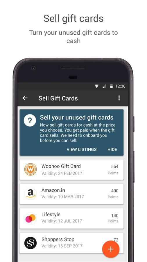 Woohoo - Digital Gift Cards- screenshot