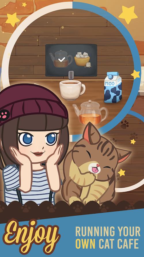 Screenshot 3 Furistas Cat Cafe 1.401 APK hack