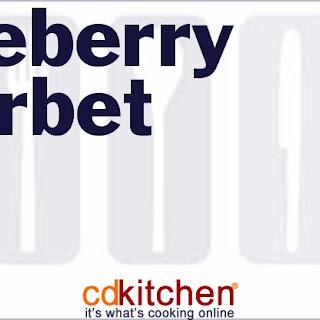 Blueberry Sherbet Recipe