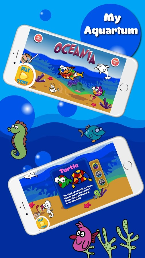 Oceania : Sea Animals Story & Games for Kids- screenshot