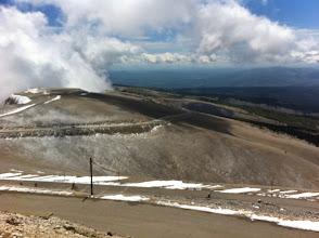 Photo: Malgré la neige sur la photo, il faisait très chaud en montant ... Mais froid en descendant ...